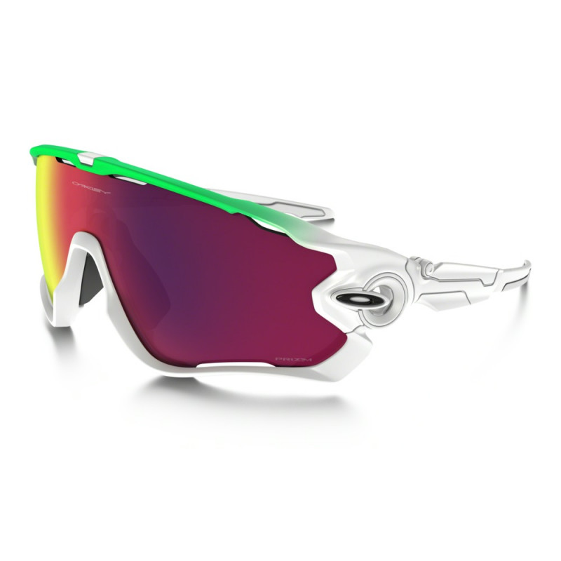 Óculos Oakley Jaw Breaker Green Fade Collection 9290-15 f1706e2232
