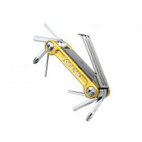 Canivete de Ferramentas Topeak Mini 9 Pro Dourada