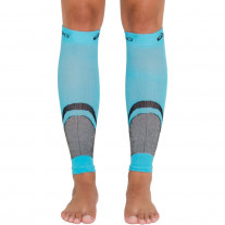 Polaina Asics Rally Leg Sleeve Azul