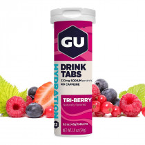 Repositor Hidroeletrolítico Gu Energy Tabs Triberry