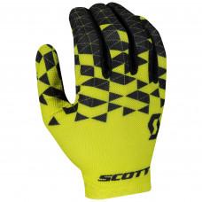 Luva Scott RC Team Dedo Longo Amarela