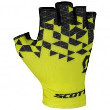 Luva Scott RC Team Dedo curto Amarela
