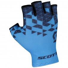 Luva Scott RC Team Dedo curto Azul
