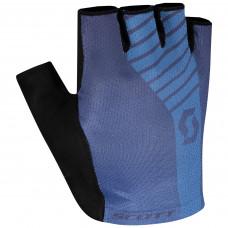 Luva Scott Aspect Gel Dedo Curto Azul