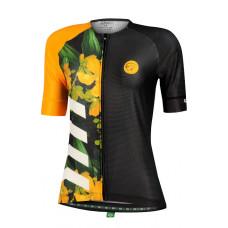 Camisa Feminina Mauro Ribeiro Bloom Amarela (Coleção 2022)