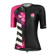 Camisa Feminina Mauro Ribeiro Bloom Roxa (Coleção 2022)