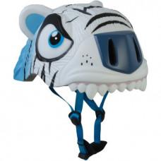 Capacete Infantil Crazy Stuff Tigre Branco