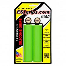 Manopla ESI Grips Extra Crunky Verde