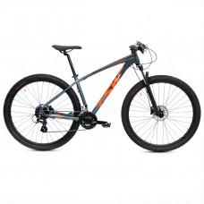Bicicleta TSW Hunch Cinza/Vermelho