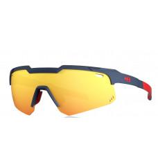 Óculos HB Shield EVO Mountain Matte Navy/Multi Red