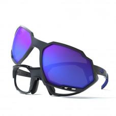 Óculos HB Rush Graphite Blue/Blue Chrome