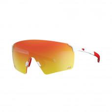 Óculos HB Quad R White/Red Chrome