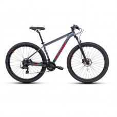 Bicicleta TSW Ride Plus Vermelho/Cinza