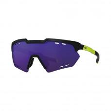 Óculos HB Shield Compact Road Black Yellow/Multi Purple