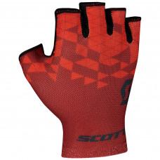 Luva Scott RC Team Dedo curto Vermelha