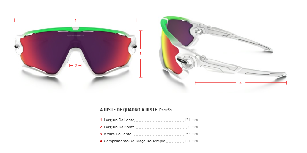 Óculos Oakley Jaw Breaker Green Fade Collection 9290-15 d41a471aa00