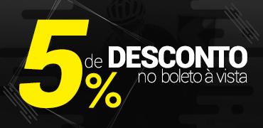 5% de Desconto à Vista